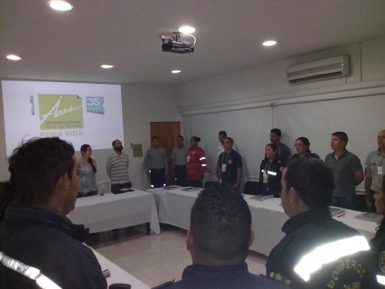 Curso de Operaciones y Control de Incendios Forestales