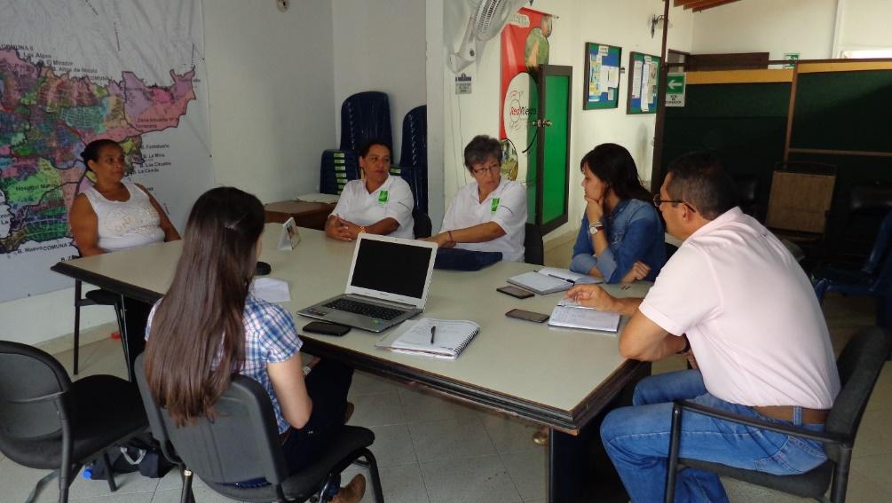 Reunión CUIDA El Salado y Oficina GRD Municipio de Bello