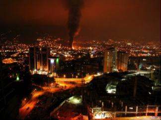 Incendio fábrica y comercializadora de productos Químicos GMP
